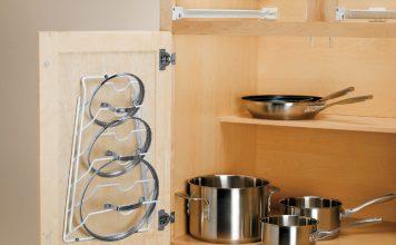 چیدمان ظروف داخل کابینیت