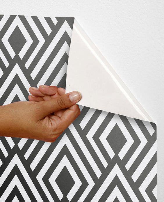 چسباندن کاغذ دیواری با جنس نانوون