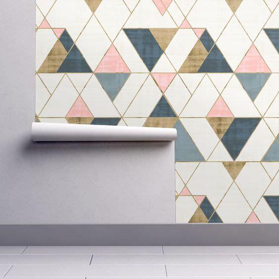 کاغذ دیواری کاغذی