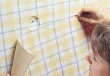 تصویر شاخص ترمیم کاغذ دیواری پاره شده