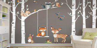 تصویر شاخص کاغذ دیواری اتاق کودک و نوزاد