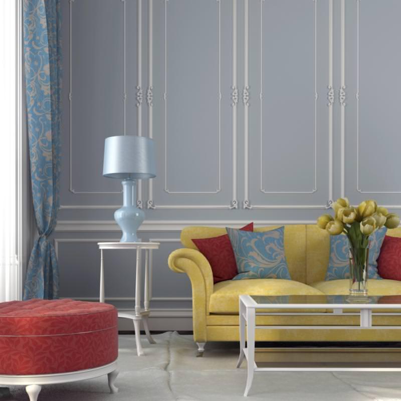 ترکیب رنگی به روش مجموعه سه تایی در دکوراسیون داخلی