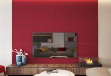 تصویر شاخص رنگ قرمز در دکوراسیون داخلی