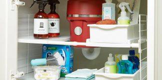تصویر شاخص چیدمان کابینت زیر سینک ظرفشویی