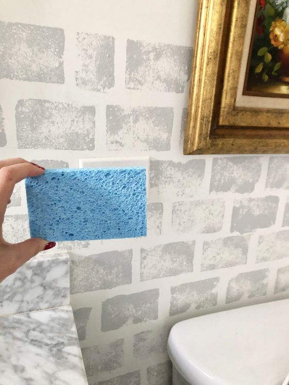 رنگ کردین دیوار با ابر و یا اسکاچ