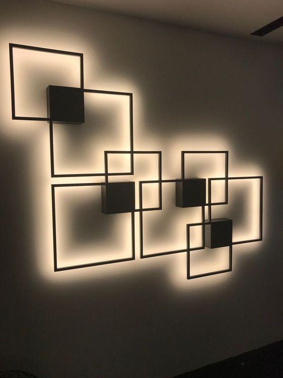 استفاده از دکوری مدرن برای دیزاین دیوار