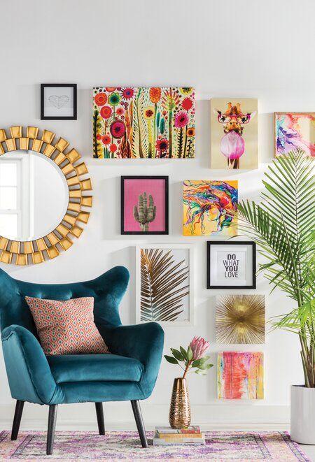 تزیین خانه با تابلو