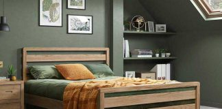 تصویر شاخص تخت خواب چوبی