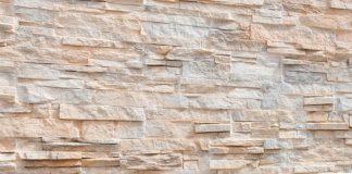 تزیین دیوار با سنگ آنتیک