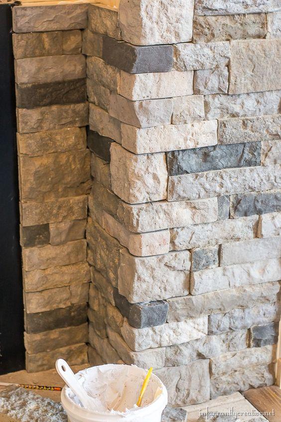 سنگ آنتیک طبیعی برای تریین دیوار